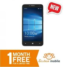 Alcatel OneTouch Fierce XL  - Prepaid Cell mobile Phone (One month Free)