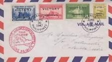 Manila , 1947, 1st Flight Manila-Bangkok-Calcutta (20745)