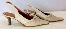 Slingbacks Kitten Formal 100% Leather Upper Heels for Women