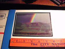 CALIFORNIA Ca Rainbow Field Farm Country Central Coast Rain Storm Green hills