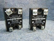 Lot of 2 OPTO 22 SOLID STATE DC CONTROL RELAY MODEL DC60S3 3-32VDC