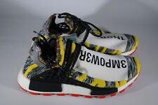 Adidas Nmd Hu Human Race Pharell Solar Pack Red Size 9.5