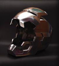 Cattoys 1/1 Aluminum LED Helmet Manual Polish Ver. For Iron Man XLII 42 Cosplay