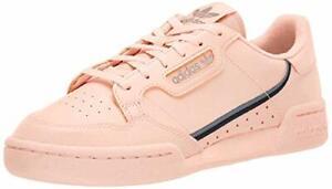 Adidas Originals Kids Continental 80 Sneaker, Clear Orange/Light Brown/Ecru Tint