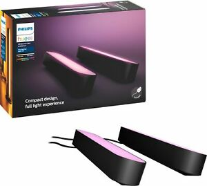 Philips Hue Play Light Bar - 2pk Black (7820230U7) Open Box