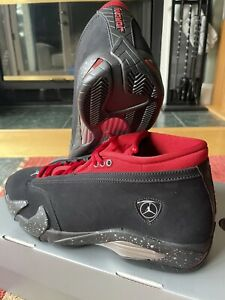 Air Jordan 14 Low Iconic Red Lipstick Size 11.5W / 10M DH4121-006 IN HAND
