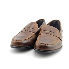 8da509c3b20 Rockport Classic Loafer Penny Men US 8.5 Brown UK 8 Pre Owned Blemish 3831