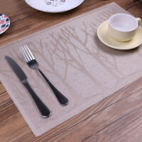 CHRISTMAS TREE HEAT INSULATED TABLE MAT BOWL PAD PLACEMATS TABLEWARE COASTERS