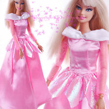 Pink Awesome EARLY National Traditional Dress up Costumes for Barbie Xmas Gift
