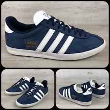 Adidas Gazelle Navy & White, Sz UK 8, US 8.5, EU 42, Originals, Vintage,