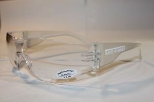 6 Pairs x Bifocal Clear Safety Glasses Shaterproof   UV100  Workwear  +1.50