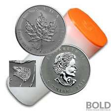 2016 Silver 1 oz Canada Maple Leaf Grizzly Bear Privy Reverse Proof (25 Coins)