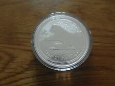 Lunar II Tiger 1oz Silver Bullion Coin - Mint Condition BUNC