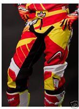 X22 Force Red Pantalones FM Enduro Cross por Adulto En Rojo Amarillo Tamaño 50