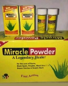 1 pack Miracle Powder is naturally formulated for all skin problems