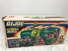 Cobra BUGG Vehicle 1988 COBRA G.I. Joe 100% Complete VINTAGE Original
