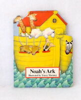 Noah's Ark illustrated by Trace Moroney used board book pictures animals toddler