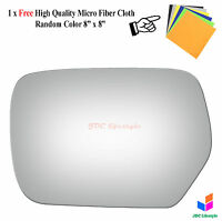 NEW fit 2003-2006 Mitsubishi Outlander Driver Side Left LH Mirror Glass #2976