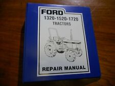 1 Ford 1320 1520 1720 Tractors Binder Only Free Shipping In Usa