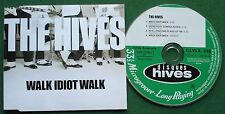 The Hives Walk Idiot Walk Polydor Label CLVLX 338 2004 Enhanced CD Single