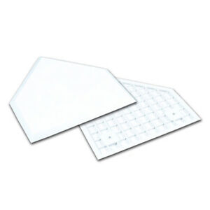 """Champro Molded Rubber 1/2"""" Waffle Bottom Home Plate - White (NEW) Lists @ $22"""