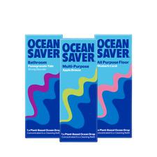 💚 OceanSaver Eco MPP Apple + All Purpose Floor+ Bathroom Refill Drops