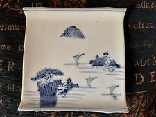 Bonsai Collectable Vintage Display Japanese White Ceramic Stand