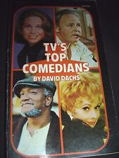 Tv's Top Comedians By David Dachs 1973 Paperback