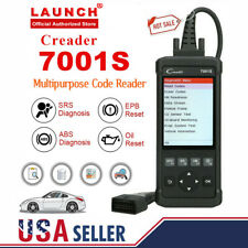 ABS SRS Auto OBD2 Code Reader LAUNCH Car Diagnostic tool OBD scanner Reset Tool