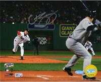 """Curt Schilling Boston Red Sox Autographed 8"""" x 10"""" World Series Photograph"""