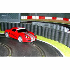 SLOT TRACK SCENICS TW5 5 Tyre Wall Sections No Clips - for Scalextric
