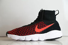 Nike Air Footscape Magista Flyknit Black Gym Red Crimson 816560-002 8-15 1