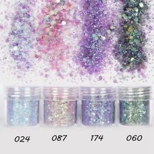 Chunky Mix Color Mermaid Holographic Cosmetic Eye Shadow Loose Glitter Powder