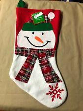 "Cute Snowman Christmas Stocking 18"" (1925)"