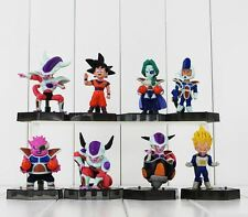 Dragon Ball Z, Set de 8 Figuras Goku, Freezer, Zarbon Dodoria, Vegeta
