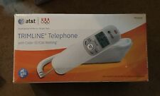At&T Tr1909 new with Caller Id & 13 # memory in White.