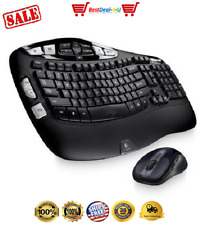 Logitech Wireless Wave Combo Mk550 With Keyboard and Laser Mouse Certified USA