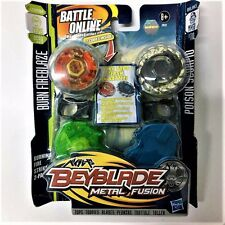 Hasbro Beyblade METAL FUSION BURN FIREBLAZE BB59A VS POISON SCORPIO B110 Boy Toy