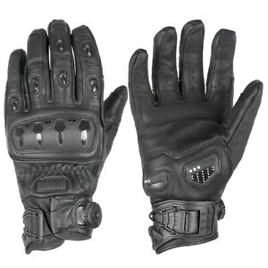 Knox Orsa Leather Gloves - Black
