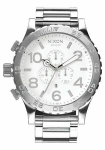 Nixon A083488 Chrono High Polish Men's 51-30 Watch. A083-488 (FEDEX 2 DAY)