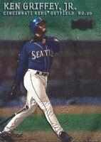 2000 Metal Baseball Emerald Parallel #76 Ken Griffey Jr. Cincinnati Reds