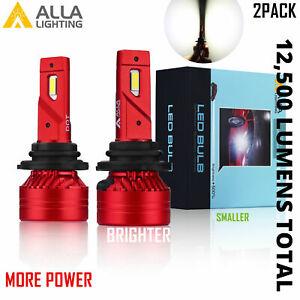 Alla White 9006 Brightest Most Powerful LED hi   Performance hd-light  Bulb