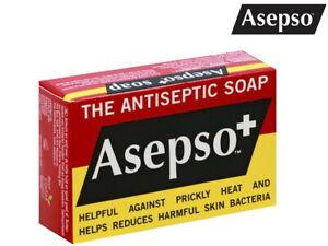 (5,85EUR/100g) Asepso+ antibakterielle, antiseptische Original Seife 80g