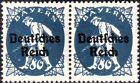 DR, Infla, Mi.Nr. 128 XVI_128 waager. Paar postfrisch einwandfrei geprüft