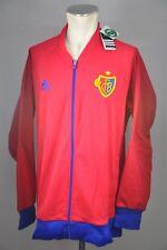 adidas FC Basel 1893 Anthem Jacket Jacke rot blau M