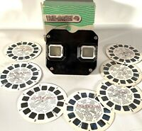 Vintage Sawyers VIEW-MASTER Stereoscope Viewer w/7 Out-of-Print Reels in Box
