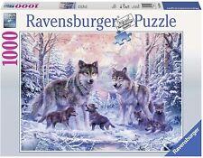 Puzzle 1000 Lupi artici Ravensburger 19146