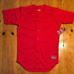 Rawlings Adult Medium Red Jersey New