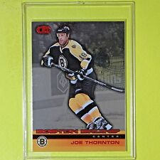 "JOE THORNTON 2002-03  "" HEADS UP  50/80 ""   Pacific #11  Boston Bruins"