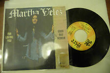 "MARTHA VELEZ""FOR LOVING YOU-disco 45 GIRI SIRE Fr 1968"" RARISSIMO!!!"